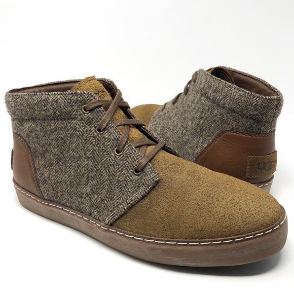 73c618402b1 UGG Australia Tweed Suede Leather Chukka Boots